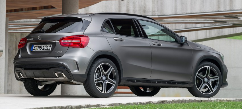 Mercedes-Benz GLA – full details, videos and gallery Image #192619