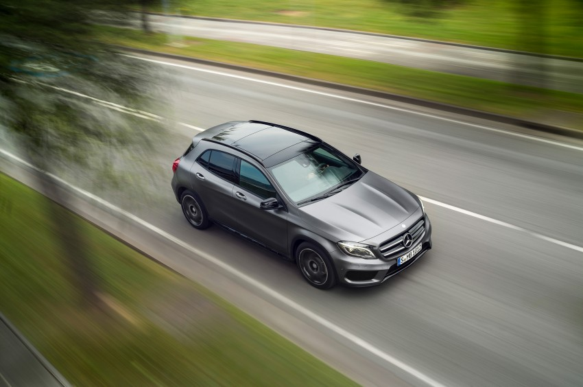 Mercedes-Benz GLA – full details, videos and gallery Image #192620