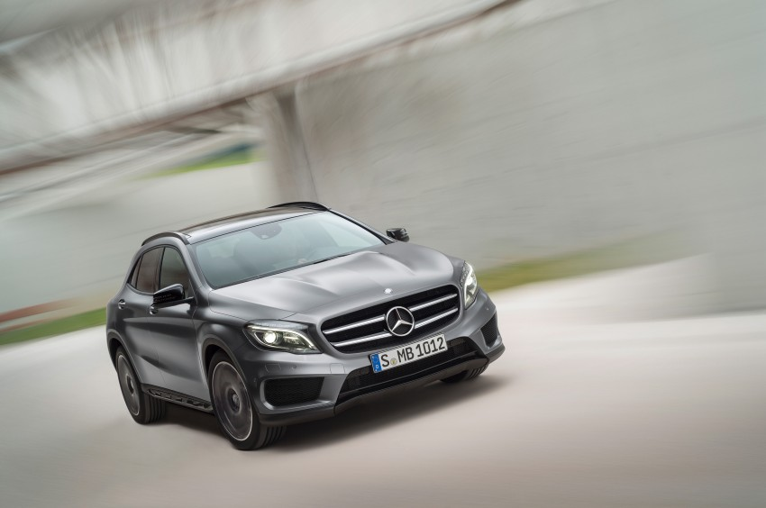 Mercedes-Benz GLA – full details, videos and gallery Image #192621