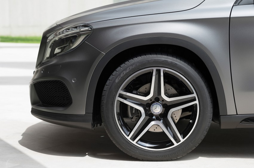 Mercedes-Benz GLA – full details, videos and gallery Image #192624