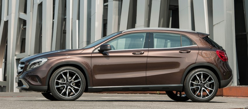 Mercedes-Benz GLA – full details, videos and gallery Image #192630