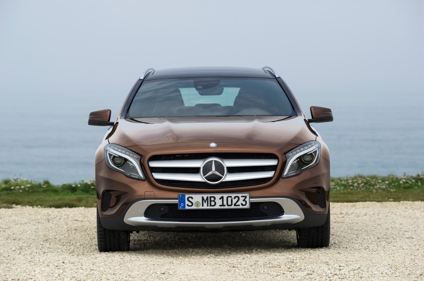Mercedes-Benz GLA – full details, videos and gallery Image #192631