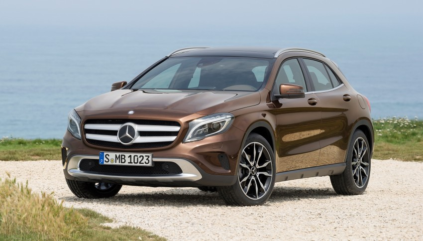 Mercedes-Benz GLA – full details, videos and gallery Image #192632