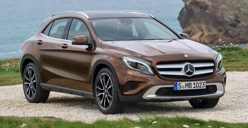 Mercedes-Benz GLA – full details, videos and gallery Image #192633