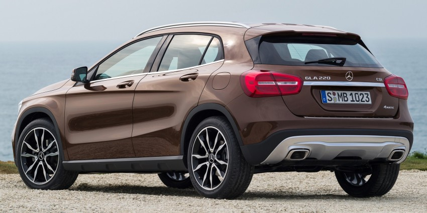 Mercedes-Benz GLA – full details, videos and gallery Image #192634