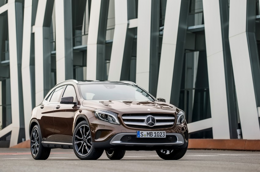 Mercedes-Benz GLA – full details, videos and gallery Image #192635