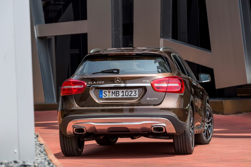 Mercedes-Benz GLA – full details, videos and gallery Image #192637
