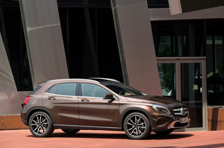 Mercedes-Benz GLA – full details, videos and gallery Image #192638