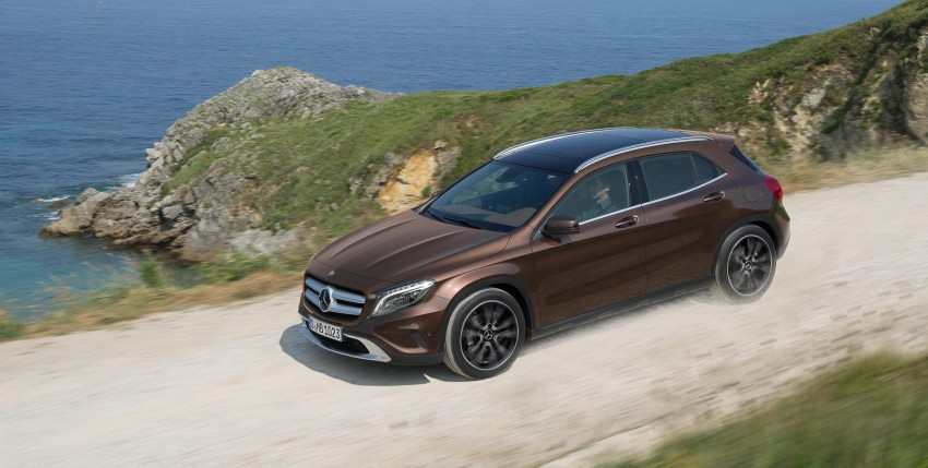Mercedes-Benz GLA – full details, videos and gallery Image #192639