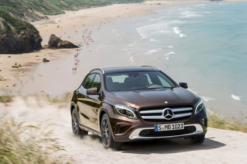 Mercedes-Benz GLA – full details, videos and gallery Image #192641