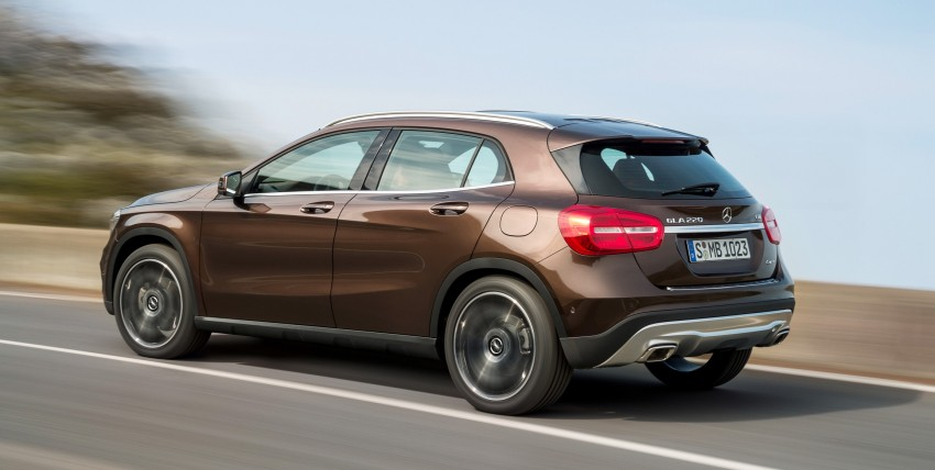 Mercedes-Benz GLA – full details, videos and gallery Image #192643