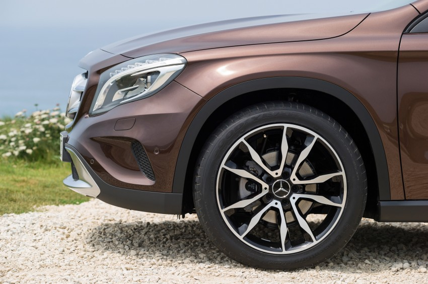 Mercedes-Benz GLA – full details, videos and gallery Image #192645