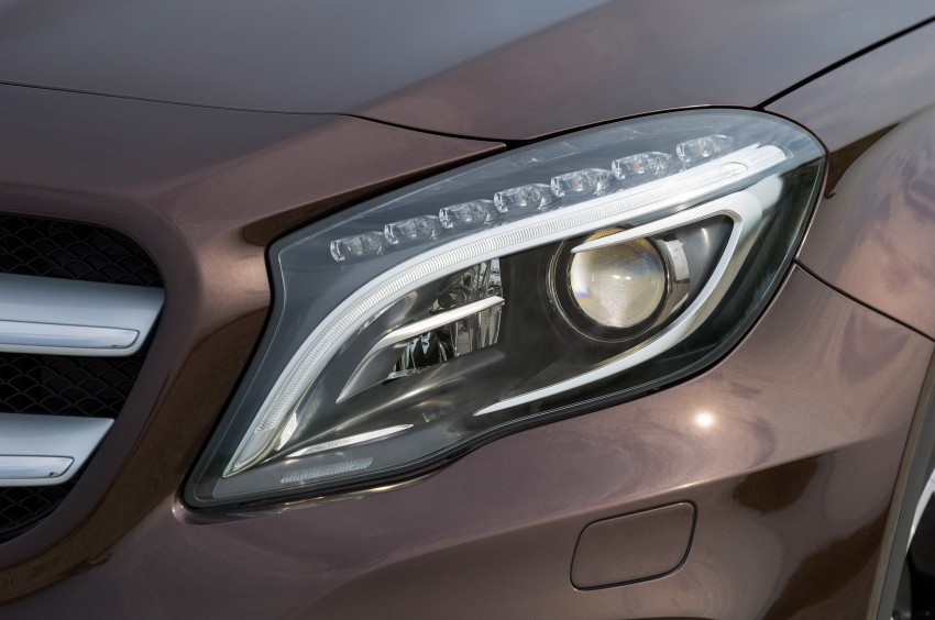 Mercedes-Benz GLA – full details, videos and gallery Image #192646