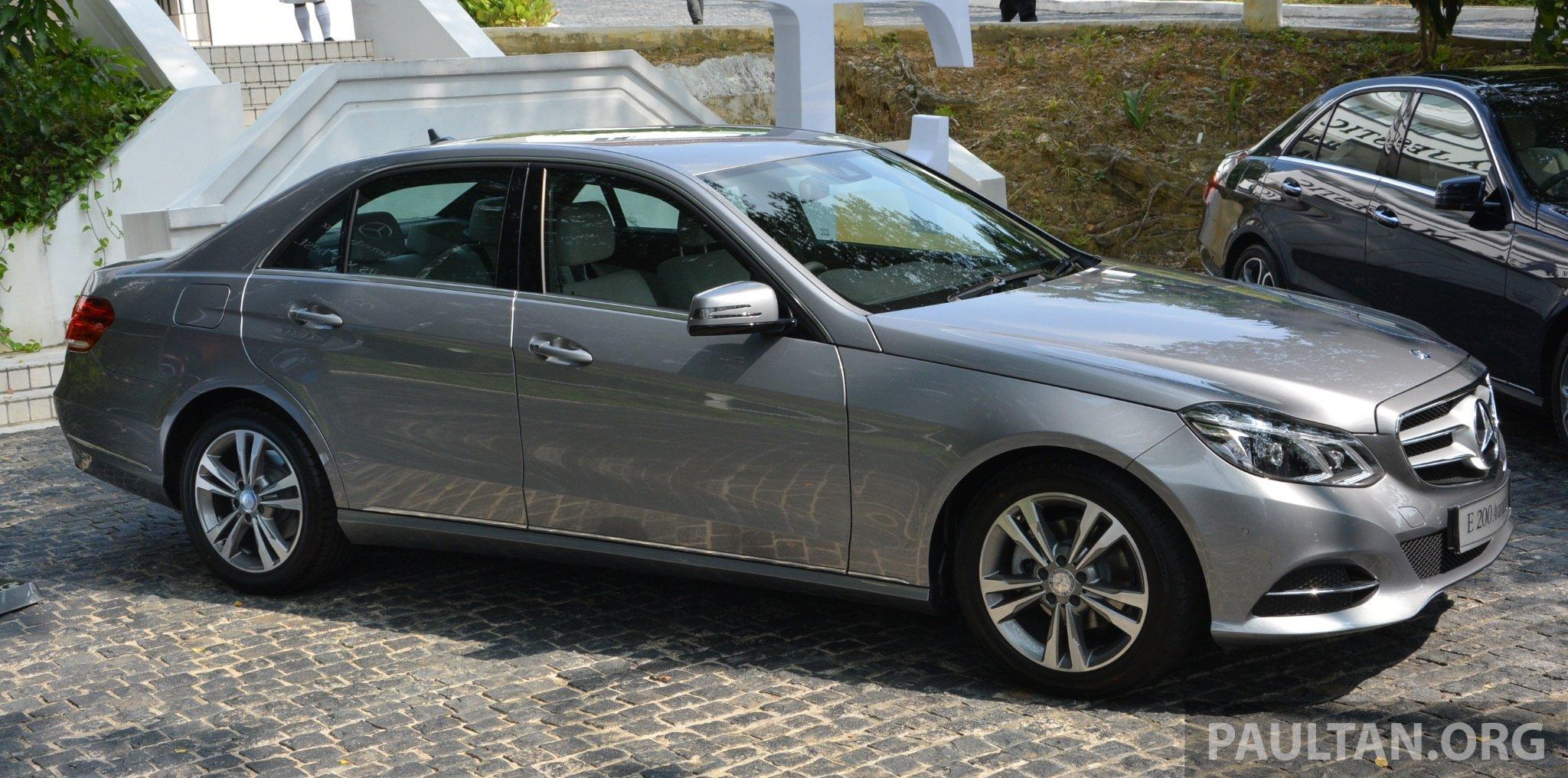 W212 mercedes benz e class facelift launched e 200 avantgarde and e 250 avantgarde rm367k