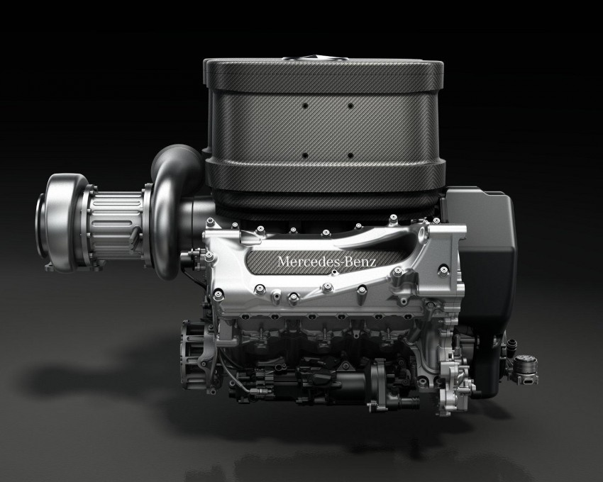 VIDEO: 2014 Mercedes F1 turbo V6 engine in action Image #191833