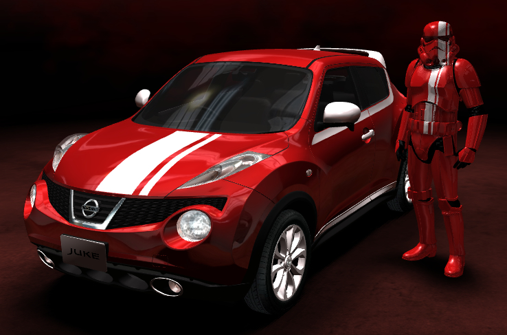 Juke Nissan 2016 >> Star Wars-themed Nissan Juke Personalized Package Image 195620