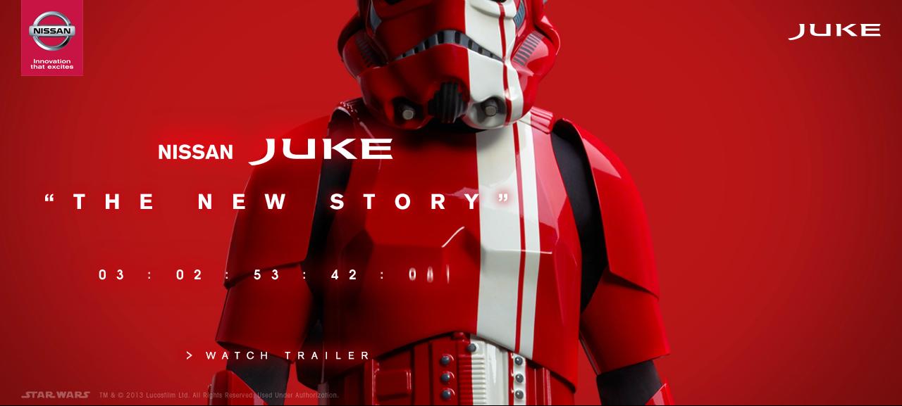 VIDEO: Nissan Juke Star Wars Edition to debut soon Paul ...