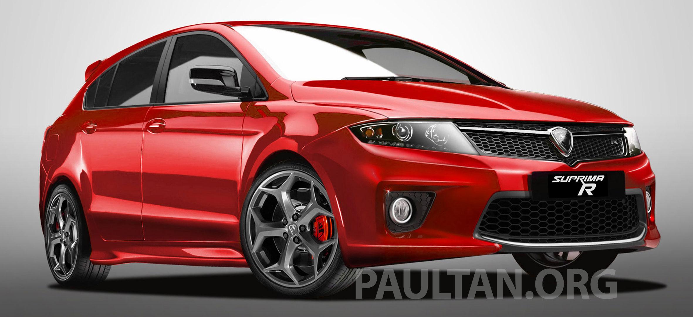 Proton Suprima R Concept Unofficial Rendering Paul Tan