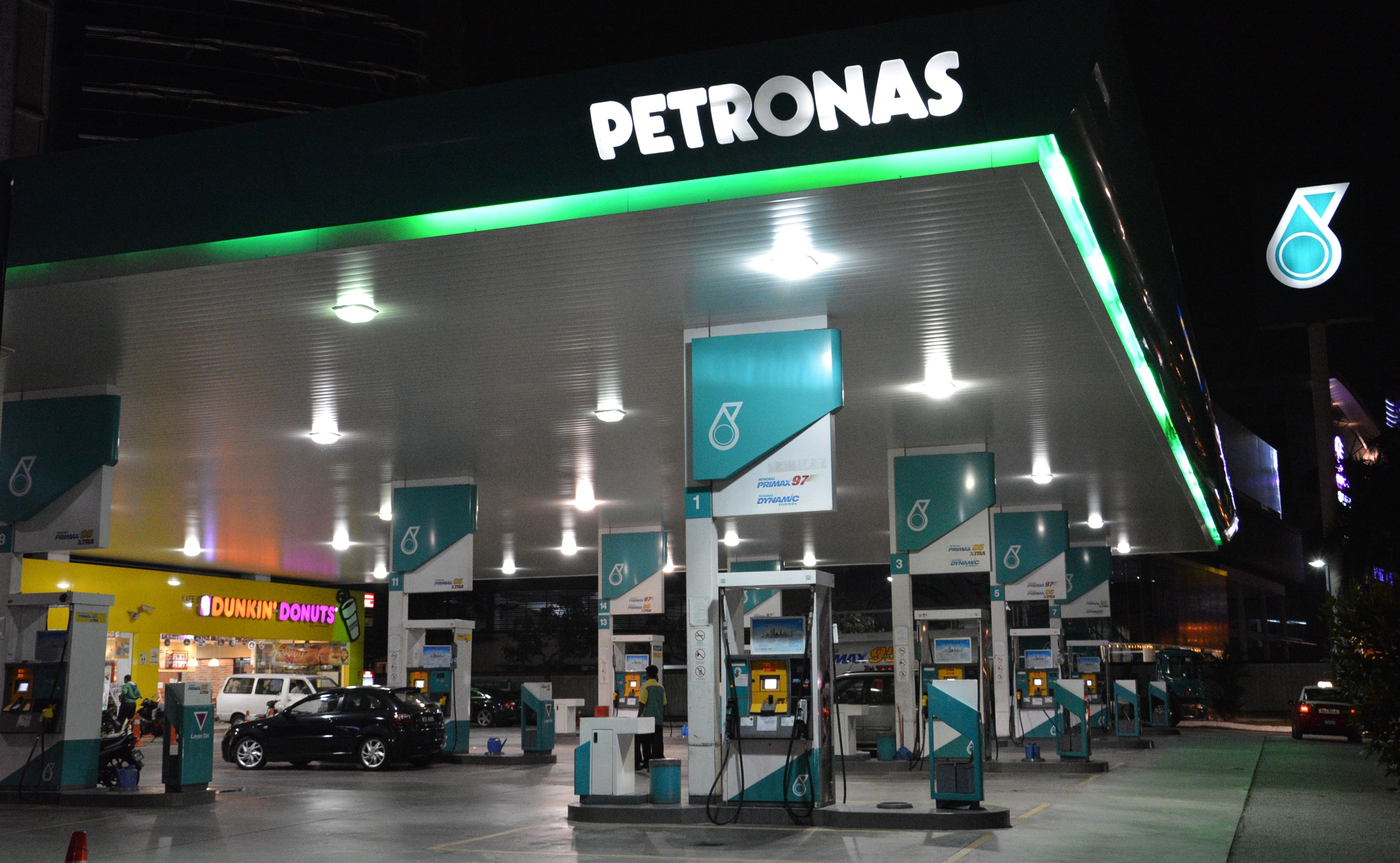 Petronas stations - one-stop convenience centres