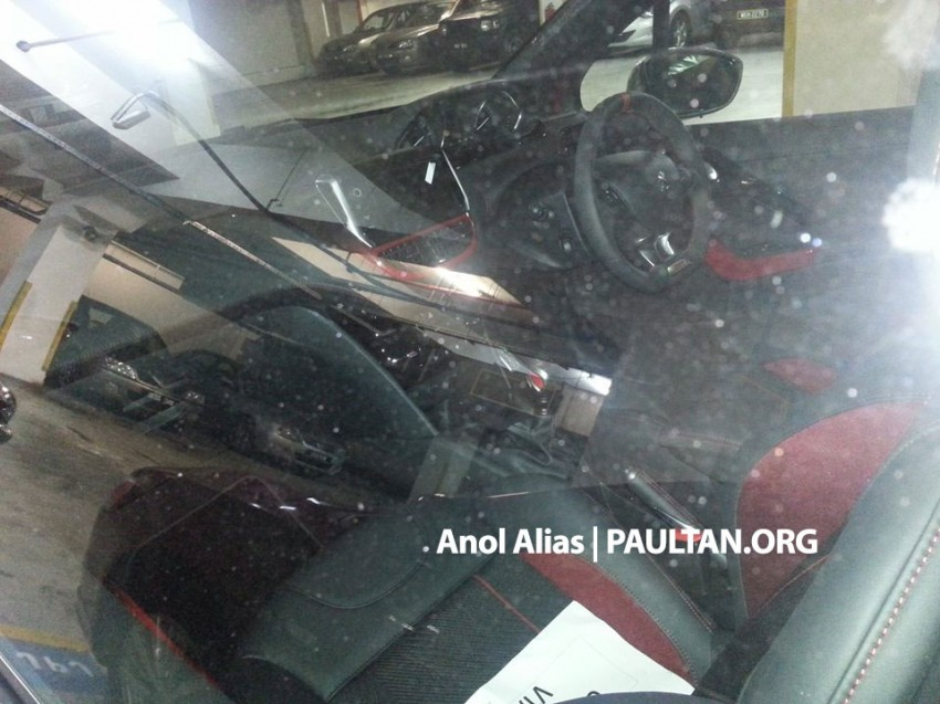 Peugeot 208 GTi sighted at JPJ – will it be CKD? Image #194505