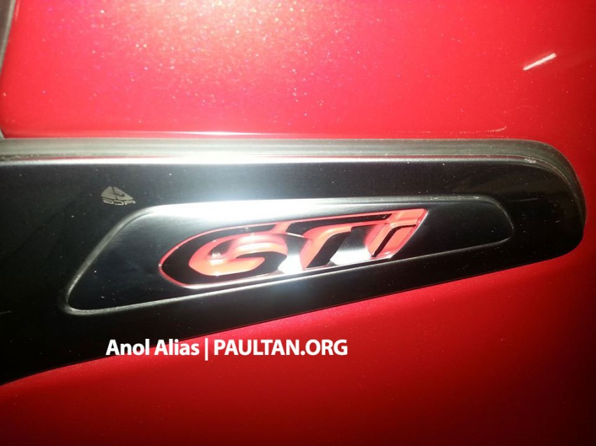 Peugeot 208 GTi sighted at JPJ – will it be CKD? Image #194508