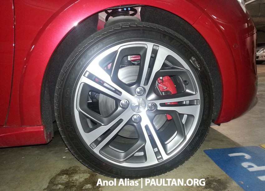 Peugeot 208 GTi sighted at JPJ – will it be CKD? Image #194509