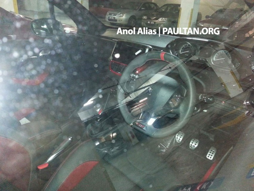 Peugeot 208 GTi sighted at JPJ – will it be CKD? Image #194510
