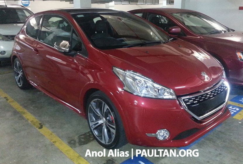 Peugeot 208 GTi sighted at JPJ – will it be CKD? Image #194511