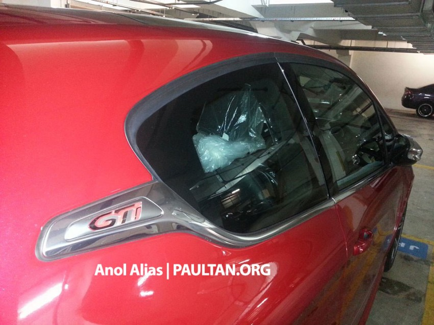 Peugeot 208 GTi sighted at JPJ – will it be CKD? Image #194513