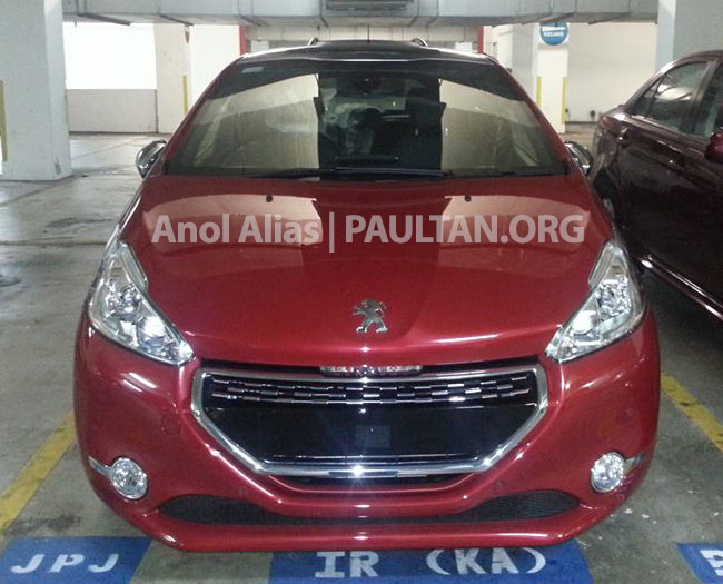 Peugeot 208 GTi sighted at JPJ – will it be CKD? Image #194515