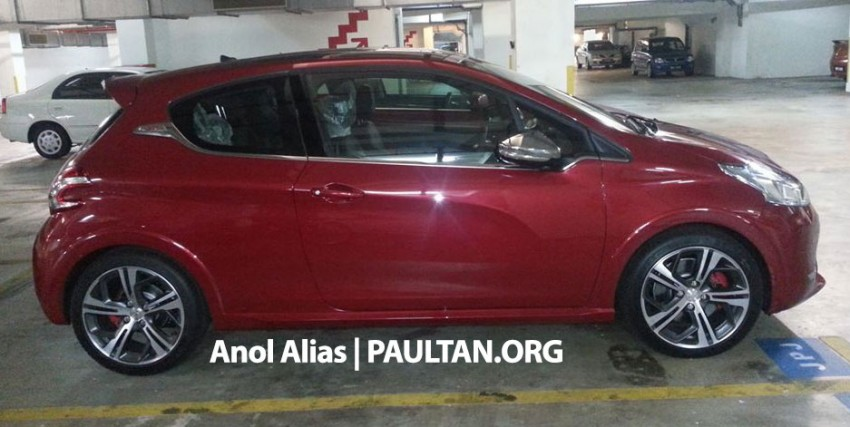 Peugeot 208 GTi sighted at JPJ – will it be CKD? Image #194516