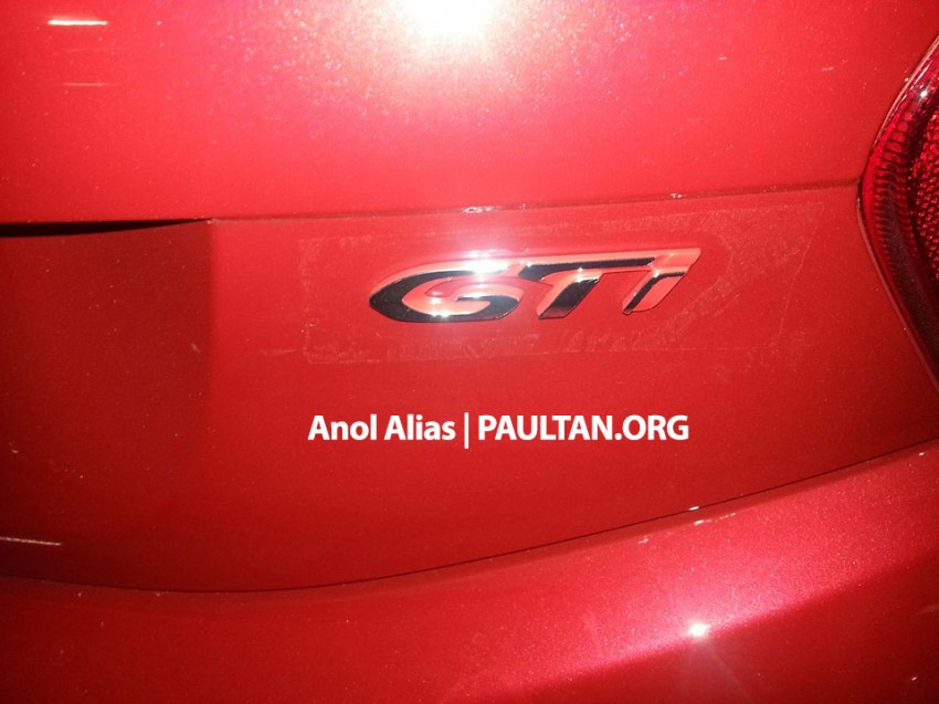 Peugeot 208 GTi sighted at JPJ – will it be CKD? Image #194518