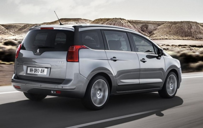 Peugeot 5008 facelift to debut at Frankfurt 2013 Image #194879