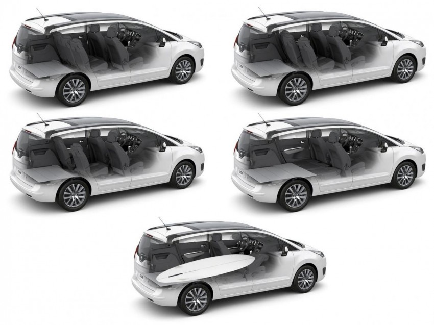 Peugeot 5008 facelift to debut at Frankfurt 2013 Image #194884