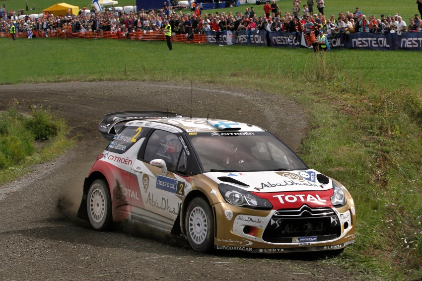 Ogier wins Rally Finland – VW's sixth victory this year Image #191653