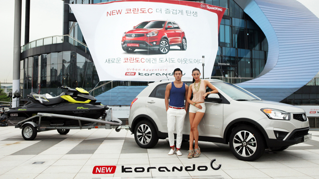 SsangYong Korando facelift unveiled in South Korea Image #192226