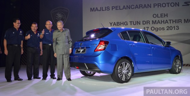 Proton suprima s hatchback launched two variants rm77k rm80k suprima s launch 004 fandeluxe Image collections