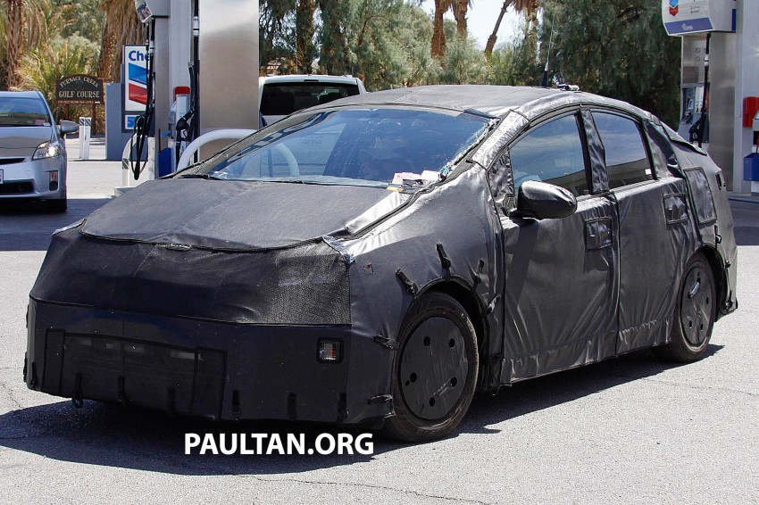 4th-gen Toyota Prius spied, but doesn't tell us much! Image #191164