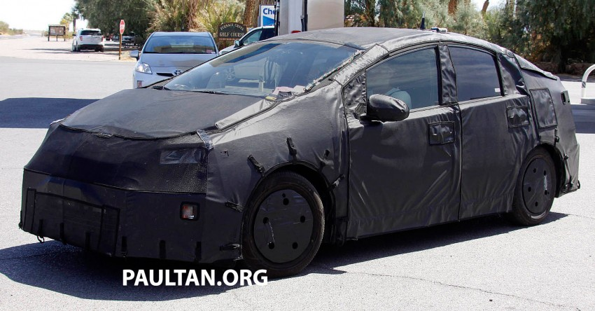 4th-gen Toyota Prius spied, but doesn't tell us much! Image #191165