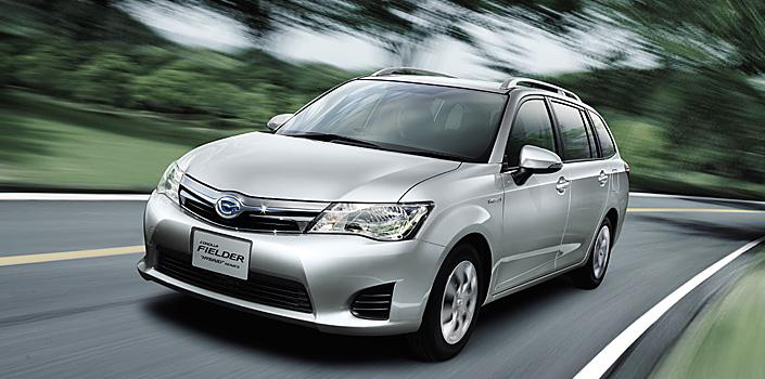 New Toyota Corolla Axio And Fielder Hybrid For Japan Image