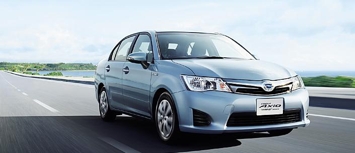 Back to Story: New Toyota Corolla Axio and Fielder Hybrid for Japan
