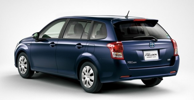 New Toyota Corolla Axio And Fielder Hybrid For Japan