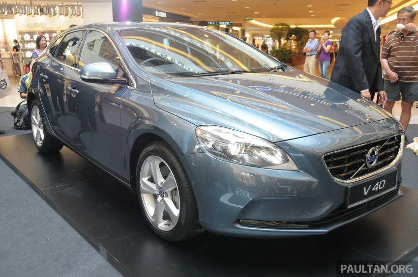 Volvo V40 launched in Malaysia – RM174k to RM199k Image #193613