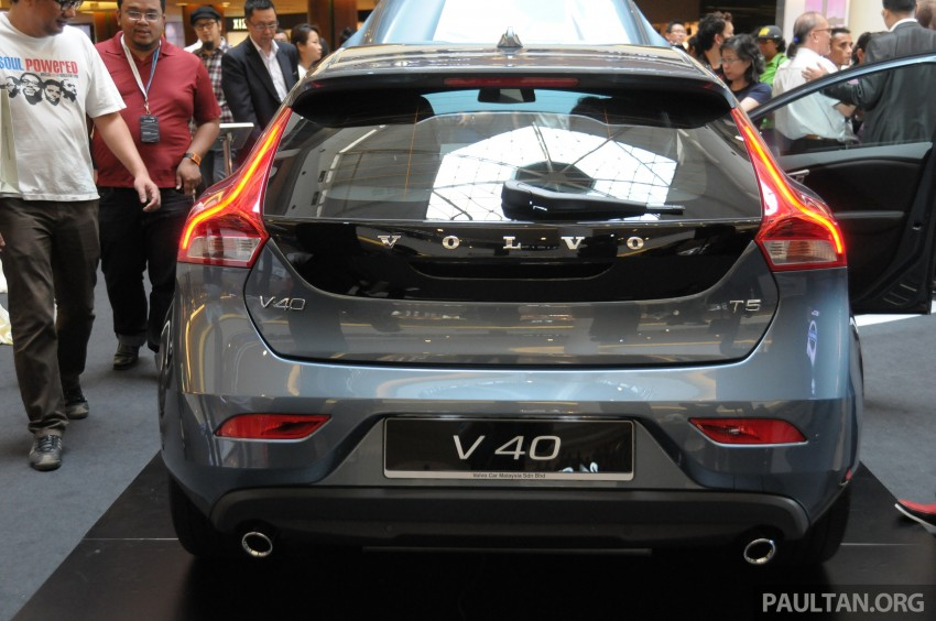 Volvo V40 launched in Malaysia – RM174k to RM199k Image #193614