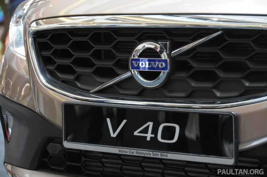 Volvo V40 launched in Malaysia – RM174k to RM199k Image #193645