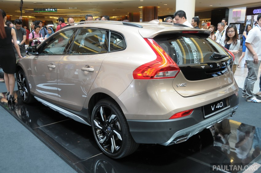 Volvo V40 launched in Malaysia – RM174k to RM199k Image #193646