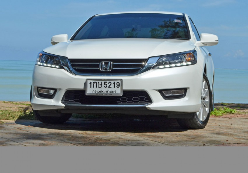 DRIVEN: Honda Accord 2.0 and 2.4 tested in Thailand Image #195800