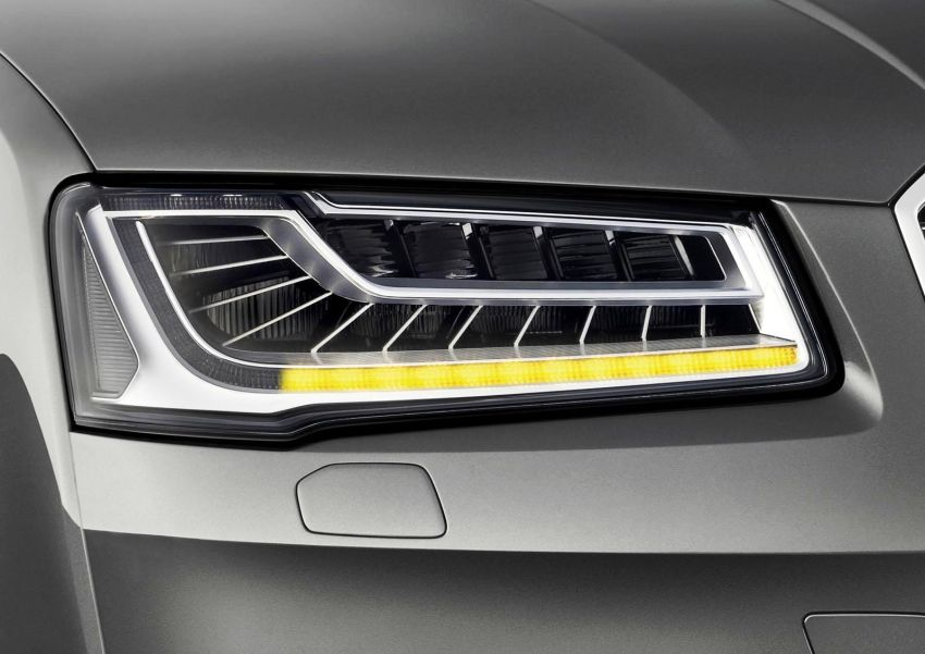 Audi A8 facelift to get sequential LED turn indicators Image #192667