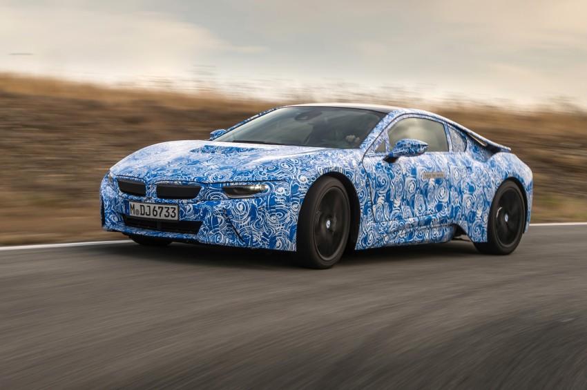 BMW i8 to make production debut at Frankfurt show Image #191801