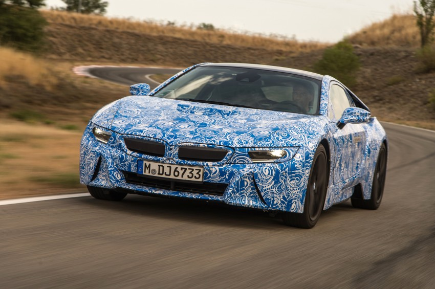 BMW i8 to make production debut at Frankfurt show Image #191803